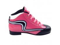 "Chaussures ""Initiation"" - coloris : rose & blanc"