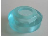Jeu de 4 gommes basses roll line en polyuréthane bleues (dureté : hard)