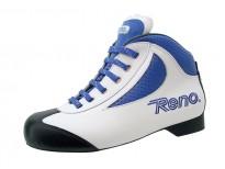 """Chaussures Reno modèle """"Oddity"""" - Coloris blanc & bleu"""
