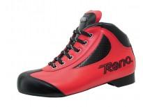 """Chaussures Reno modèle """"Oddity"""" - Coloris rouge & noir"""