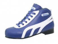"""Chaussures Reno modèle """"Amateur""""  - coloris bleu & blanc"""