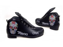 Exemple chaussures ODDITY customisées