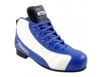 Chaussures Millénim PLUS 3 - coloris blanc & bleu