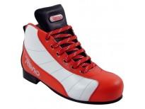 Chaussures Millénim PLUS 3 - coloris blanc & rouge