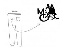 Pantalon blanc MC France pour arbitres