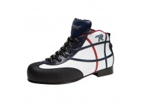 "Chaussures Reno modèle ""Asbury"" - coloris : blanc & marine & noir"