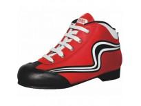 Chaussures Initiation - coloris rouge et blanc