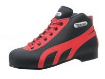 """Chaussures Reno modèle """"Amateur"""" noir & rouge"""