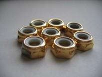 Jeu de 8 écrous roll line (8mm)