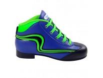 "Chaussures Reno ""Initiation"" - coloris : bleu & vert fluo"
