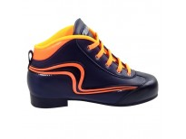 """Chaussures Reno """"Initiation"""" - coloris : marine & orange"""