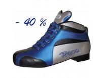 """Chaussures Reno """"FALCON"""" - coloris : bleu & noir & argent"""
