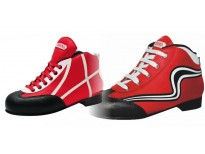 "Patins complets ""Initiation"" rouge & blanc"