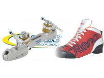 "Patins complets ""ODDITEX"" & platines VARIANT M"