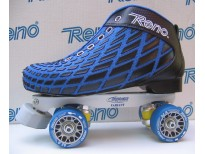 "Patins complets ""Microtec"" bleus & platines Variant M -"